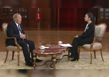 Interview of the President of the Republic of Kazakhstan N. Nazarbayev to the Central Television of China